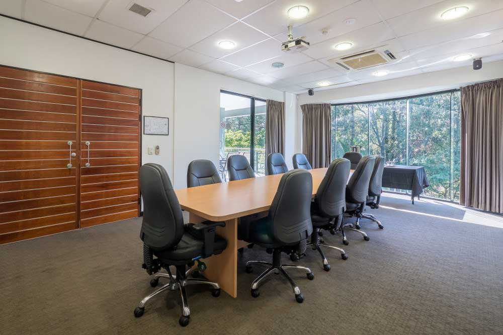 Boardroom in GEM College Topaz Campus, Brisbane, Australia